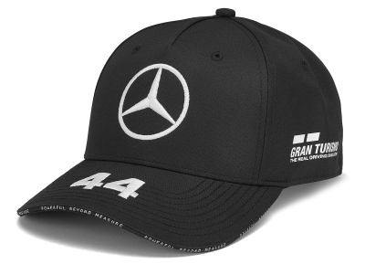 Детская бейсболка Mercedes F1 Children's Cap Lewis Hamilton, Edition 2019, Black