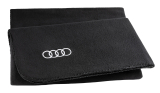 Флисовый плед Audi Fleece Blanket 2 in 1, black, артикул 3291900300