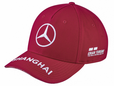 Бейсболка Mercedes F1 Cap Lewis Hamilton, Special Edition China 2019, Red