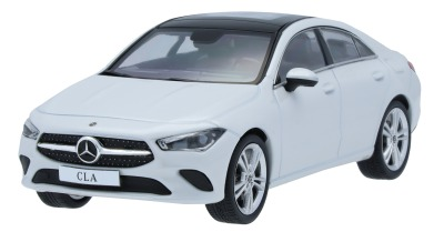 Модель Mercedes-Benz CLA Coupé C118, Scale 1:43, White
