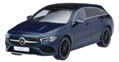 Модель Mercedes-Benz CLA, Shooting Brake, Denim Blue, Scale 1:43