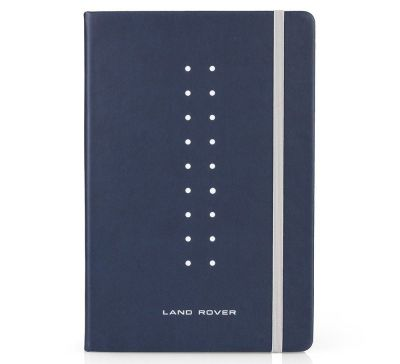 Блокнот Land Rover Note Book Large A5, Navy