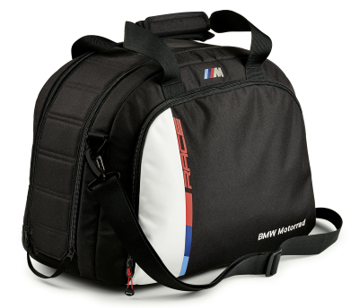 Сумка для мотошлема BMW Motorrad Motorsport Helmet Bag, Black/White
