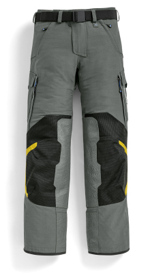 Мужские мотоштаны BMW Motorrad Pants Rallye Competition, Men, Grey-Yellow