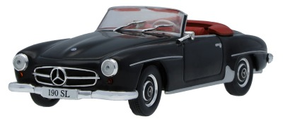 Модель Mercedes-Benz 190 SL W 121 (1955-1963), Black, Scale 1:43