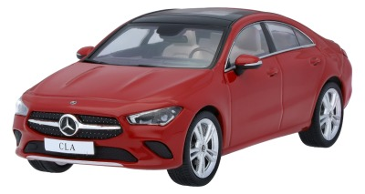 Модель Mercedes-Benz CLA Coupé C118, Scale 1:43, Red
