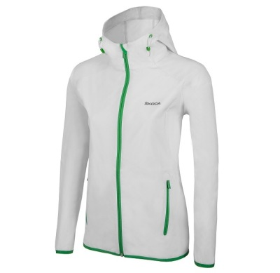 Женская куртка Skoda Softshell Jacket Event, Women, white
