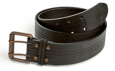 Кожаный ремень унисекс BMW Motorrad Boxer Leather Belt, Unisex, Black