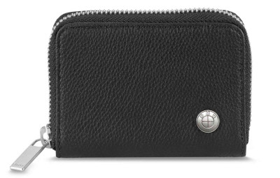 Кожаный кошелек BMW Leather Wallet, Small, Black