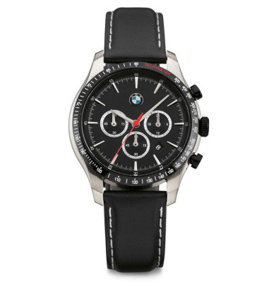 Мужской хронограф BMW Chrono Watch, Men, Black/Silver