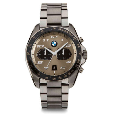Мужской хронограф BMW Sport Chrono Watch, Men, Gun metal / Cashmere