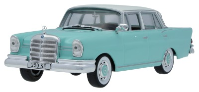 Масштабная модель Mercedes-Benz 220 SE Fintail W 111 (1959-1965), Pearl Green, Scale 1:43