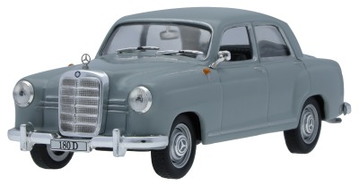 Масштабная модель Mercedes-Benz 180 D Ponton W 120 (1954-1959), Pearl Grey, Scale 1:43