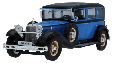 Масштабная модель Mercedes-Benz Nürburg 460 W 08 (1928-1934), Blue, Scale 1:43
