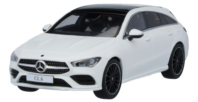 Модель Mercedes-Benz CLA, Shooting Brake, Polar White, Scale 1:43