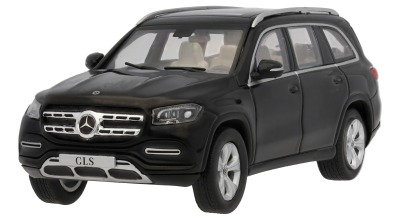Модель автомобиля Mercedes-Benz GLS (X167), Obsidian Black, Scale 1:43
