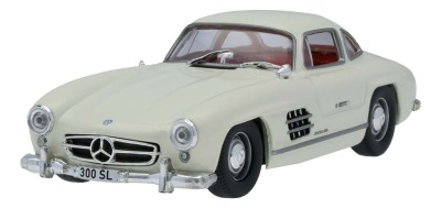 Масштабная модель Mercedes-Benz 300 SL W 198 (1954-1957), Light Ivory, Scale 1:43