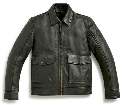 Мужская кожаная куртка BMW Motorrad Leather Jacket, Engineer, Men, Black
