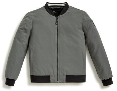 Мужская куртка BMW Motorrad College Jacket Club, Men, Grey/Black