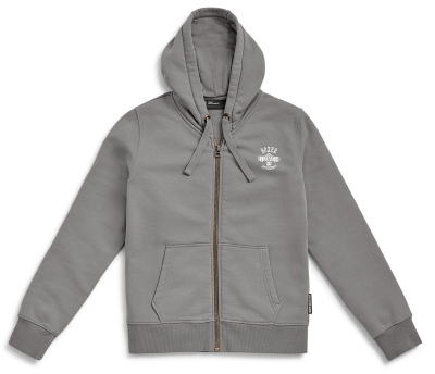 Женская толстовка BMW Motorrad Zip-Hoodie Mechaniker, Ladies, Grey