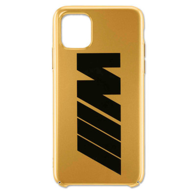 Чехол BMW M для Apple iPhone 11 Pro, Gold