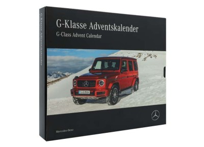 Календарь с моделью Mercedes G-Class Advent Calendar with Scale Car