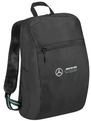 Складной рюкзак Mercedes-AMG Petronas Motorsport Packable Rucksack, Season 2020, Black