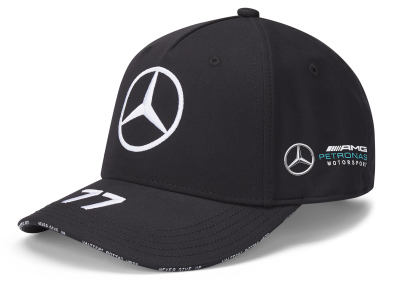 Бейсболка Mercedes F1 Cap Valtteri Bottas, Edition 2020, Black