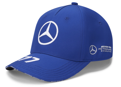 Бейсболка Mercedes F1 Cap Valtteri Bottas, Edition 2020, Blue