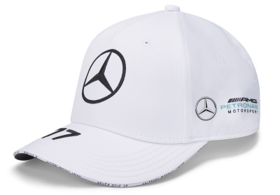 Бейсболка Mercedes F1 Cap Valtteri Bottas, Edition 2020, White