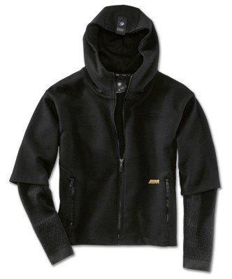 Женская толстовка BMW M Sweatjacket, Ladies, Black/Gold