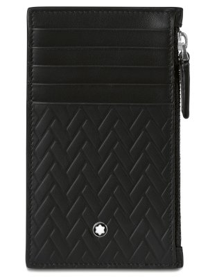 Кожаный кошелек BMW Zip Case, by Montblanc, Black