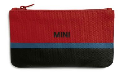 Косметичка MINI Pouch Small Tricolour Block, Chili Red/Black/Island