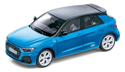 Масштабная модель Audi A1 Sportback edition one, Turbo Blue, Scale 1:43