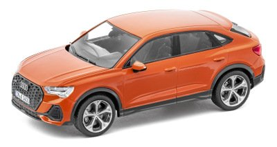 Масштабная модель Audi Q3 Sportback, Pulse Orange, Scale 1:43