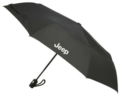 Складной зонт Jeep Folding Umbrella, Compact, Black