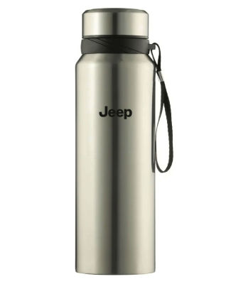 Термос Jeep Classic Thermos Flask, Silver, 1l