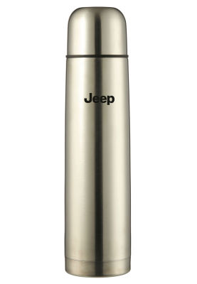 Термос Jeep Thermos Flask, Silver, 1l