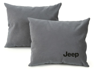 Подушка для салона автомобиля Jeep Auto Cushion, Grey
