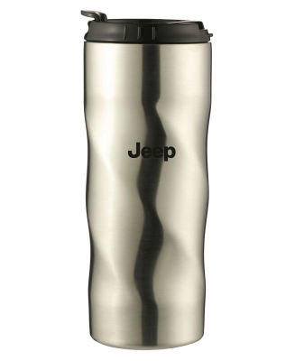 Термокружка Jeep Thermo Mug Twisted, Silver