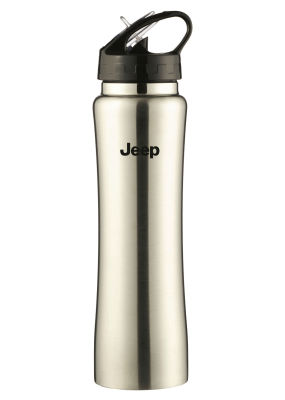 Термокружка Jeep Thermo Bottle, Silver/Black, 0.5l