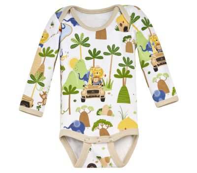 Боди для малышей Mercedes-Benz, Babygrow, white with colorful contrasts