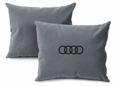 Подушка для салона автомобиля Audi Rings Saloon Cushion, Grey