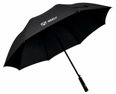 Зонт-трость Geely Stick Umbrella, XL, Black