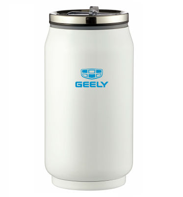 Термокружка Geely Thermo Mug, White, 0.33l