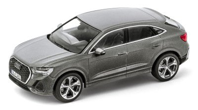Масштабная модель Audi Q3 Sportback, Chronos Grey, Scale 1:43