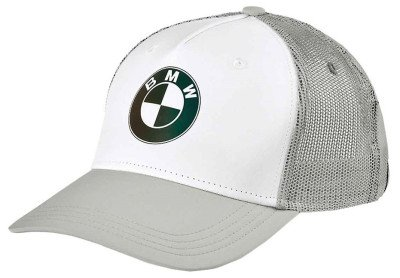 Женская бейсболка BMW Motorrad Cap Crew, Ladies, White/Grey