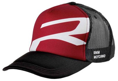 Бейсболка BMW Motorrad Cap Roadster, Black/Red/White