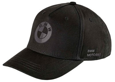 Бейсболка BMW Motorrad Cap All Black NM