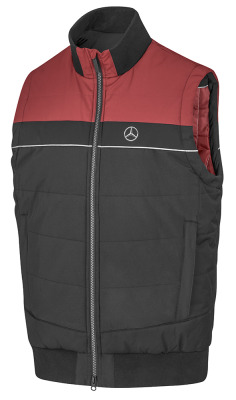 Мужской жилет Mercedes-Benz Driver Vest, Men's, Black/Red